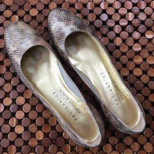 Caligarius Arthur Beren Italy Leather Slip On Flat